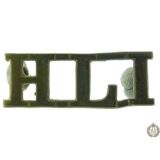 1F/040 - Highland Light Infantry Regiment HLI Shoulder Title