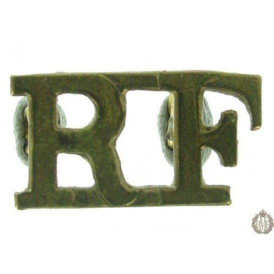 1F/051 - Royal London Fusiliers Regiment RF Shoulder Title