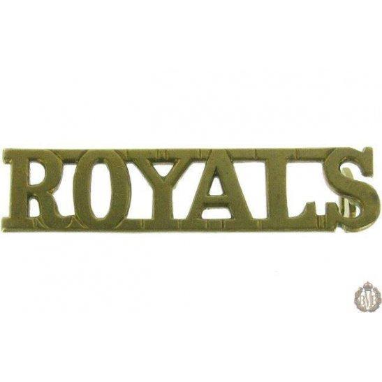 1F/073 - Blues & Royals Regiment Shoulder Title Shoulder Title