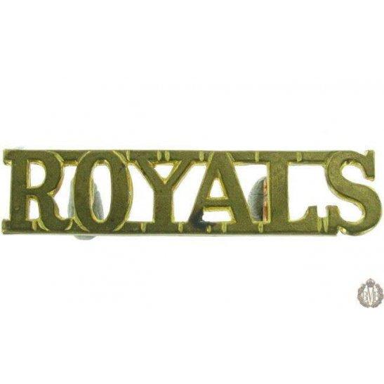 1F/078 - Blues & Royals Regiment Shoulder Title Shoulder Title