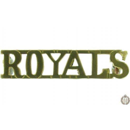 1F/083 - Blues & Royals Regiment Shoulder Title Shoulder Title