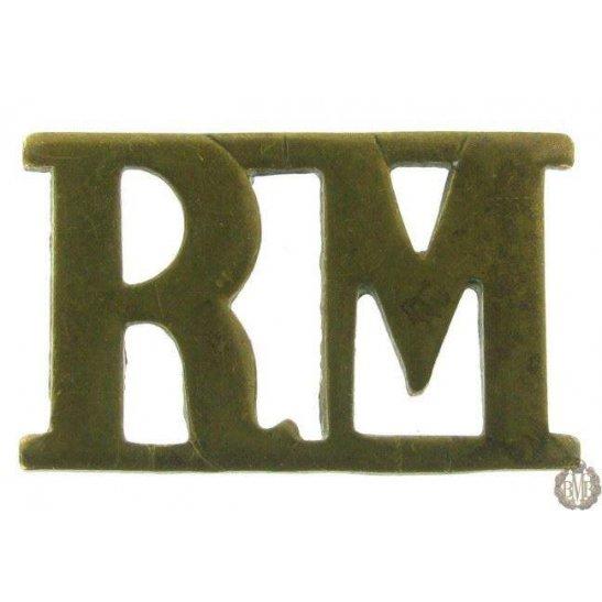 1F/089 - Royal Marines RM Shoulder Title