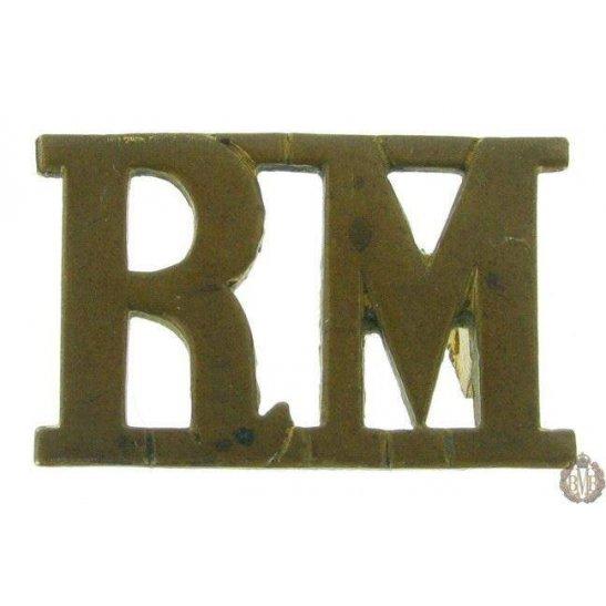 1F/093 - Royal Marines RM Shoulder Title