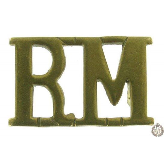 1F/094 - Royal Marines RM Shoulder Title