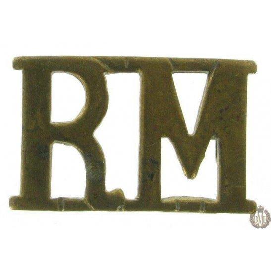 1F/100 - Royal Marines RM Shoulder Title