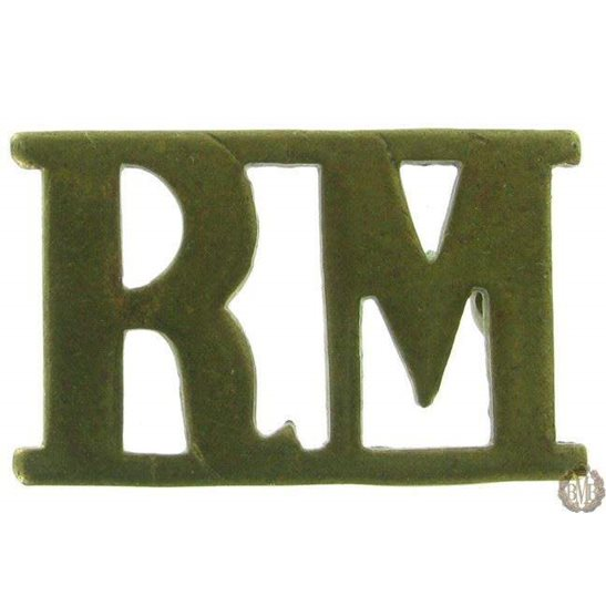 1F/101 - Royal Marines RM Shoulder Title