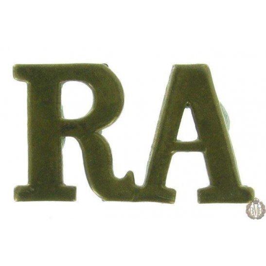 1F/109 - Royal Artillery RA Shoulder Title