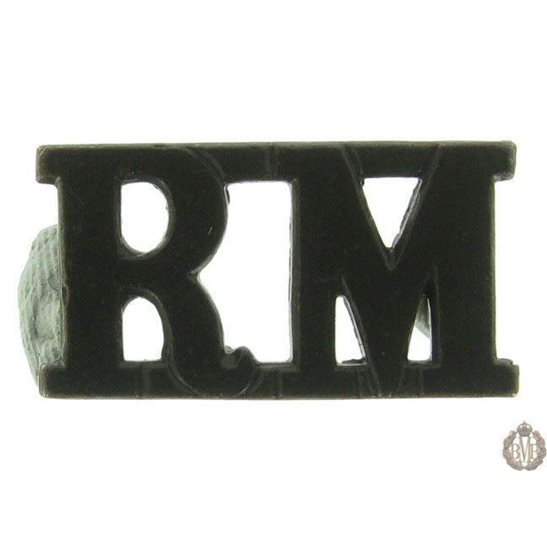 1F/133 - Royal Marines RM Shoulder Title