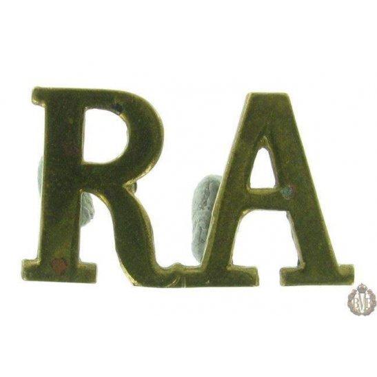 1F/138 - Royal Artillery RA Shoulder Title
