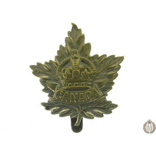 1G/008 - Canadian Division / Canada Corps Cap Badge