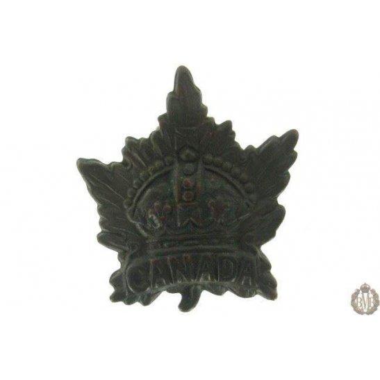 1G/010 - Canadian Division / Canada Corps Cap Badge
