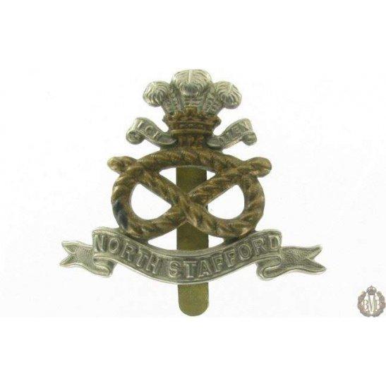1I/014 - The North Staffordshire Regiment Cap Badge - Stafford