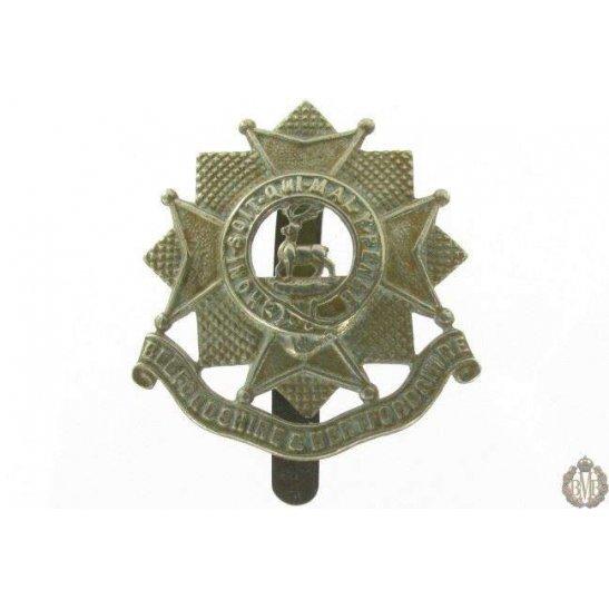 1I/017 - Bedfordshire & Hertfordshire Regiment Cap Badge