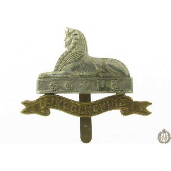 1I/020 - Lincolnshire Regiment Cap Badge - Lincoln