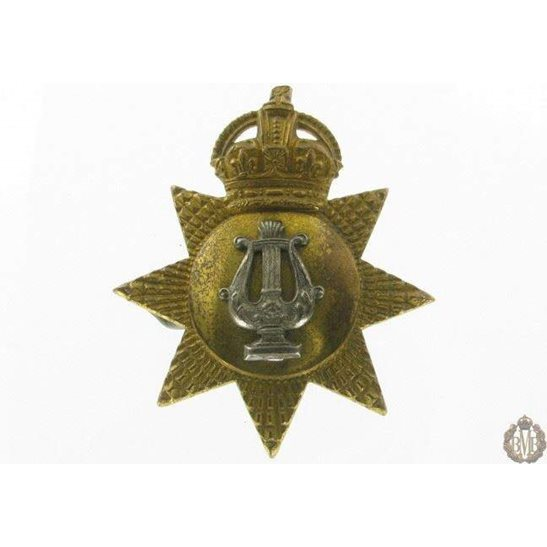 1I/090 - Musicians / Bandsmen Regiment / Corps Cap Badge