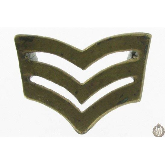 1I/098 - Sergent Stripes NCOs Arm / Sleeve Badge