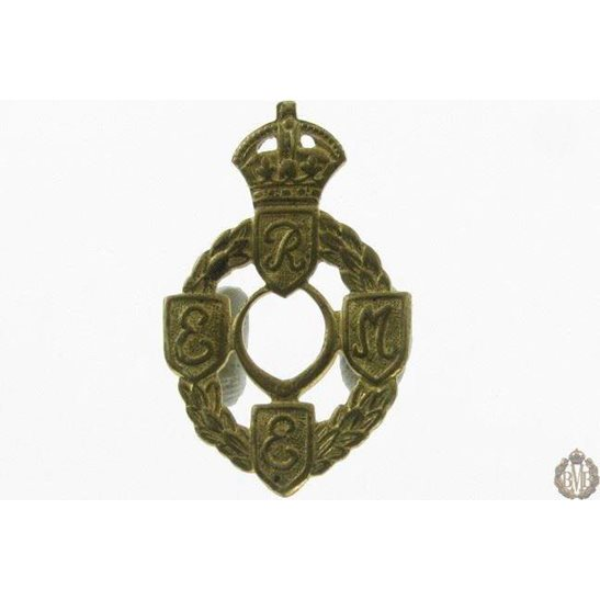 1I/125 Royal Electrical & Mechanical Engineers REME Collar Badge