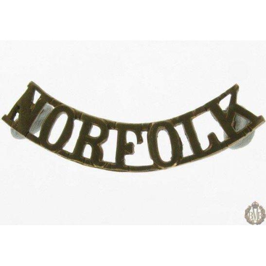 1I/128 - The Royal Norfolk Regiment Shoulder Title