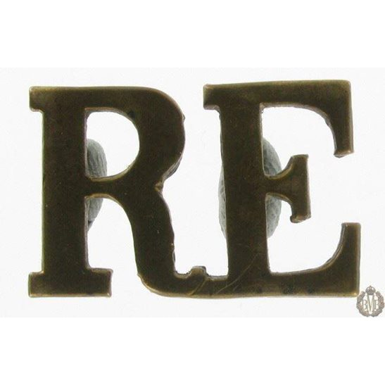 1I/129 - Royal Engineers RE Shoulder Title