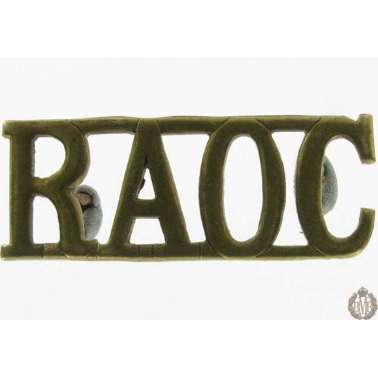 1I/135 - Royal Army Ordnance Corps RAOC Shoulder Title