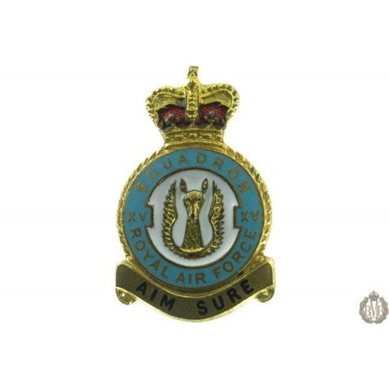 15 (XV) Squadron Royal Air Force Lapel Badge RAF