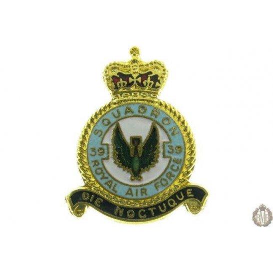 39 Squadron Royal Air Force Lapel Badge RAF