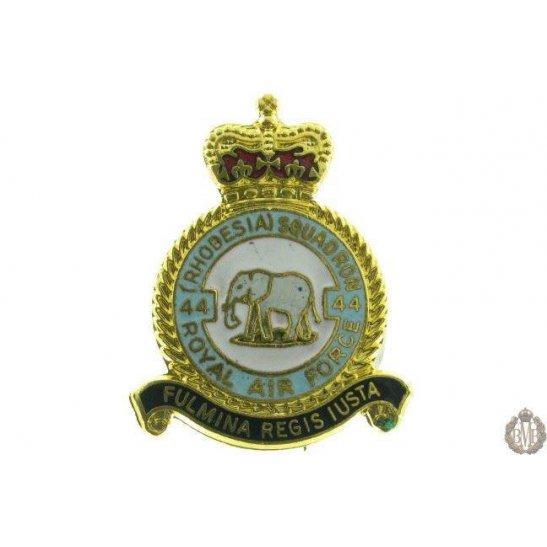 44 (Rhodesia) Squadron Royal Air Force Lapel Badge RAF