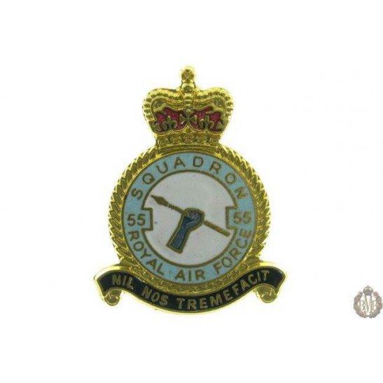 55 Squadron Royal Air Force Lapel Badge RAF