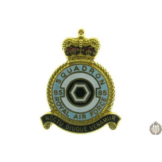 85 Squadron Royal Air Force Lapel Badge RAF