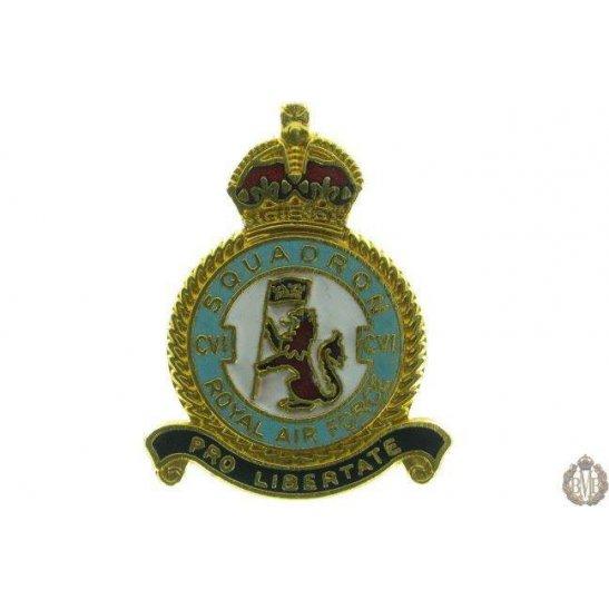 106 (CVI) Squadron Royal Air Force Lapel Badge RAF