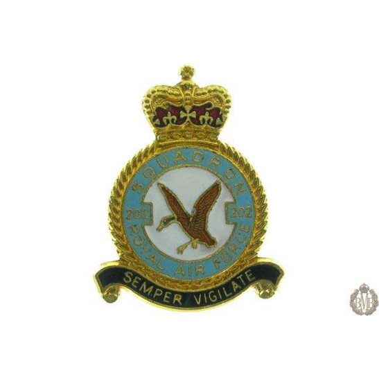 202 Squadron Royal Air Force Lapel Badge RAF