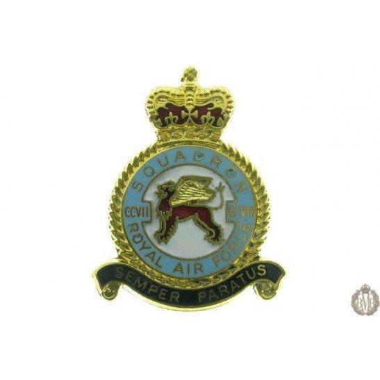 207 Squadron Royal Air Force Lapel Badge RAF