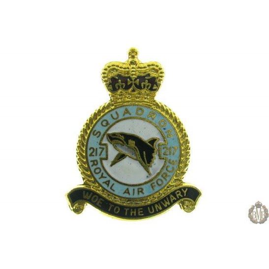 217 Squadron Royal Air Force Lapel Badge RAF
