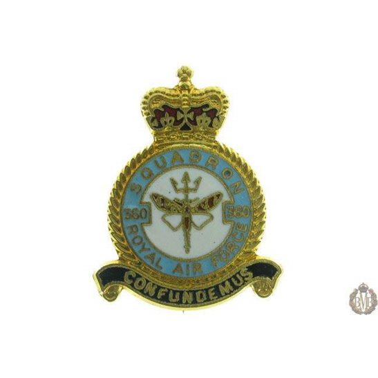 360 Squadron Royal Air Force Lapel Badge RAF