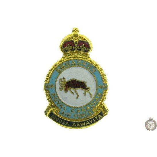 419 Squadron Royal Canadian Air Force Lapel Badge RCAF