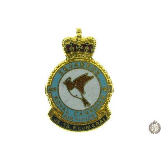 425 Squadron Royal Canadian Air Force Lapel Badge RCAF
