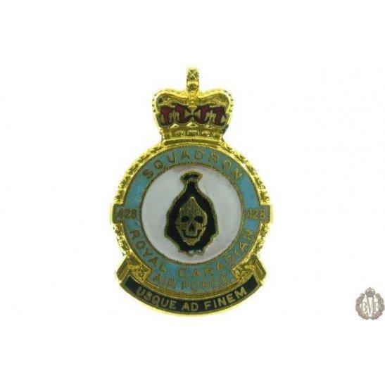 428 Squadron Royal Canadian Air Force Lapel Badge RCAF