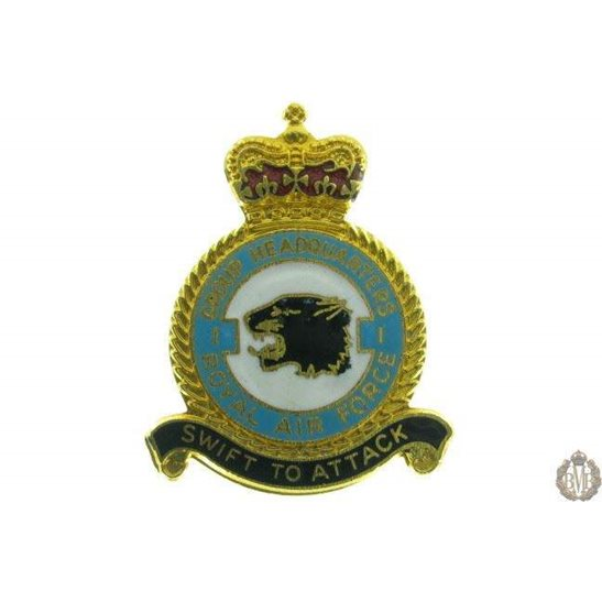 1 Group Headquarters Royal Air Force RAF Lapel Badge