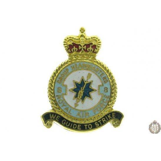 8 Group Headquarters Royal Air Force RAF Lapel Badge