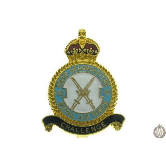 10 Group Headquarters Royal Air Force RAF Lapel Badge