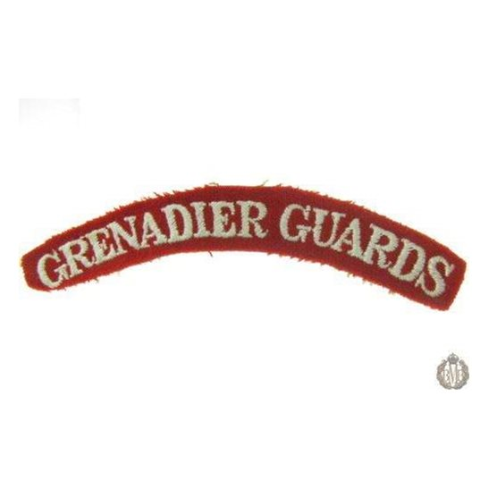1I/143 - Grenadier Guards Regiment Cloth Shoulder Title
