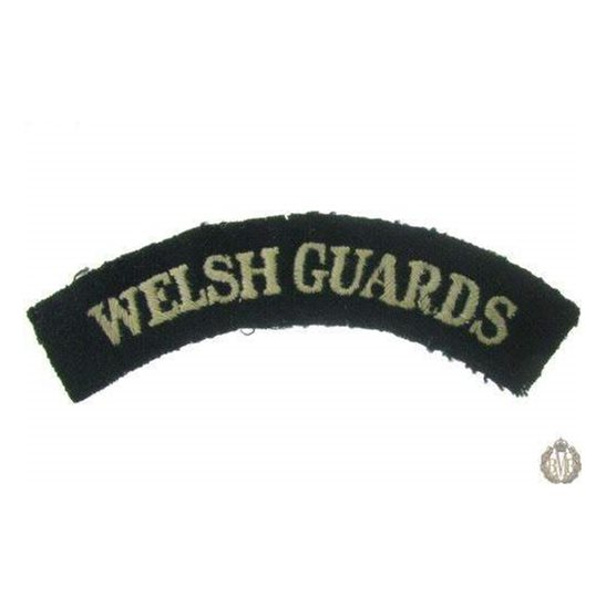 1I/150 - Welsh Guards Regiment Cloth Shoulder Title
