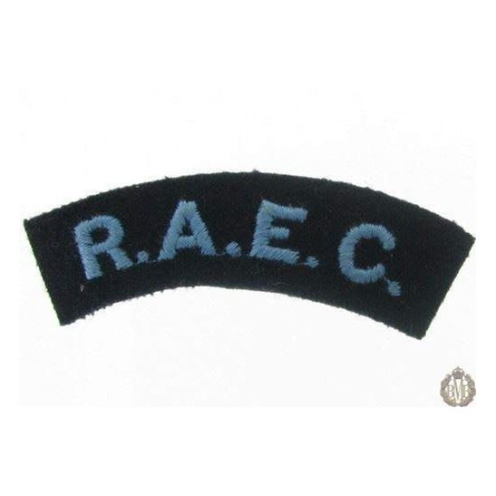 1I/169 - Royal Army Educational Corps RAEC Cloth Shoulder Title