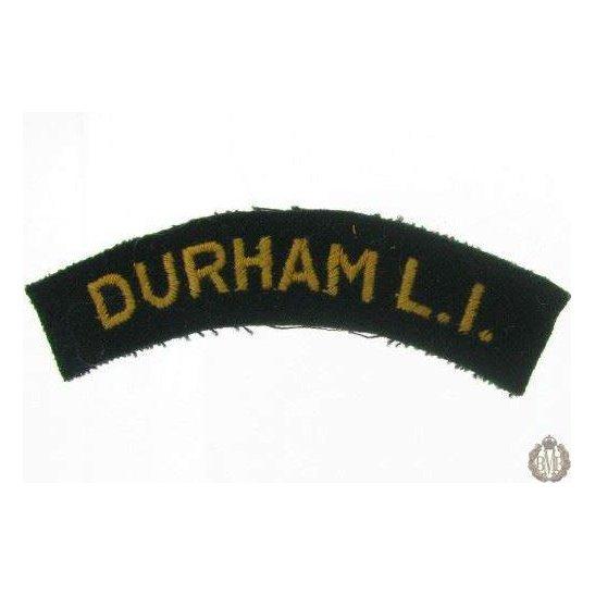 1I/172 - Durham Light Infantry DLI Regiment Cloth Shoulder Title
