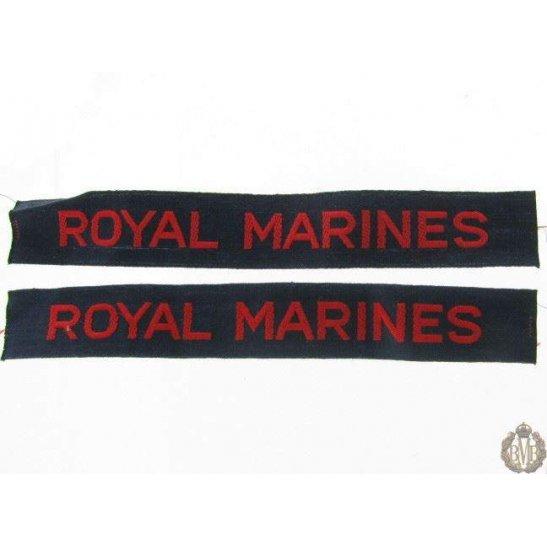 1I/176 - Royal Marines Regiment / Corps Nylon Shoulder Title
