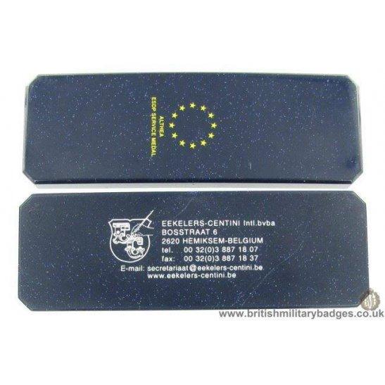 N1A/82 - European Union Althea ESDP Service Medal Issue Box Case