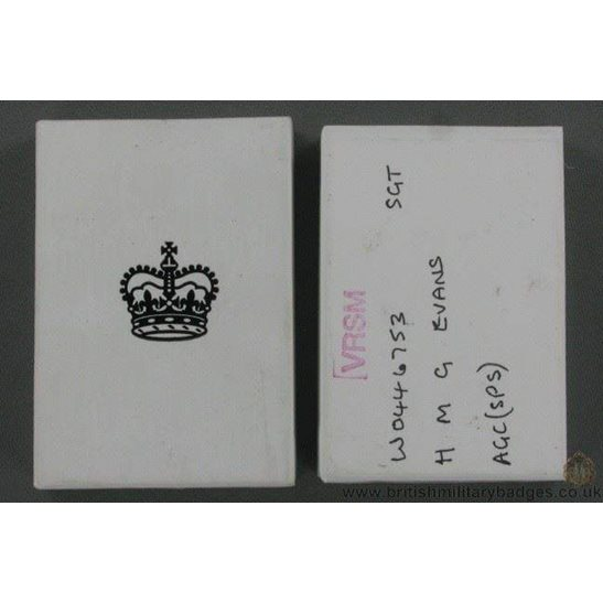 N1A/87 - Queen Elizabeth II Medal Issue Postage Box