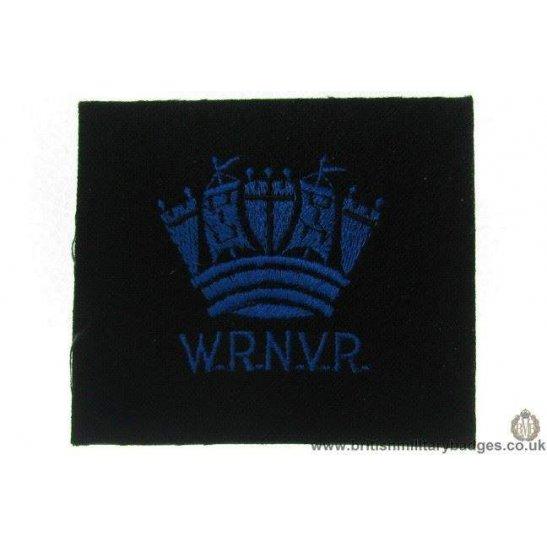 R1A/10 - Women's Royal Navy Volunteer Reserve WRNVR Blazer Badge