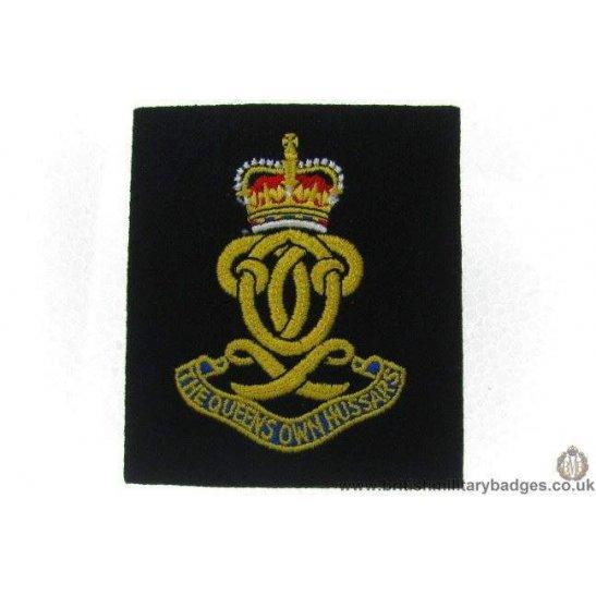 R1A/18 - The Queen's Own Hussars Regiment Blazer Badge