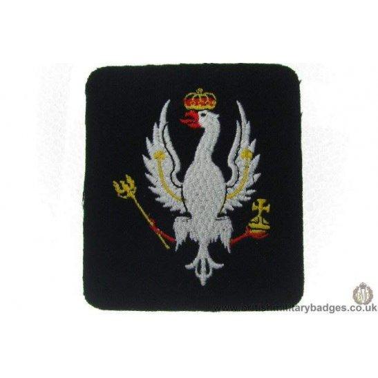 R1A/32 - 14th / 20th Hussars Regiment Blazer Badge